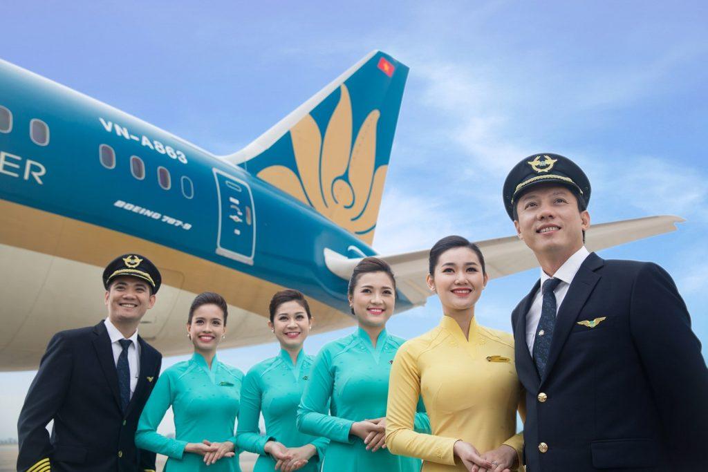 Chiến lược Marketing của Vietnam Airlines- Bài bản trong xây dựng hình ảnh