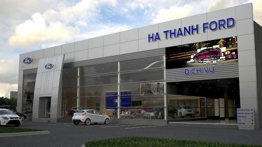 Chiến lược marketing của Ford- Showroom được đặt ở những thành phố lớn