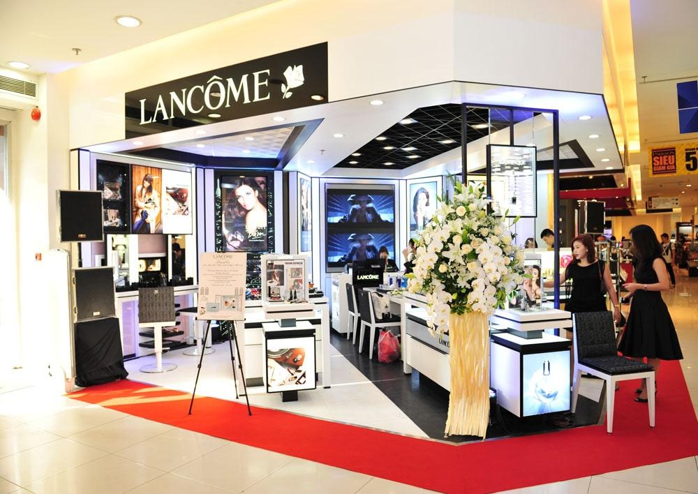 chiến lược Marketing của Lancôme- Phân phối độc quyền