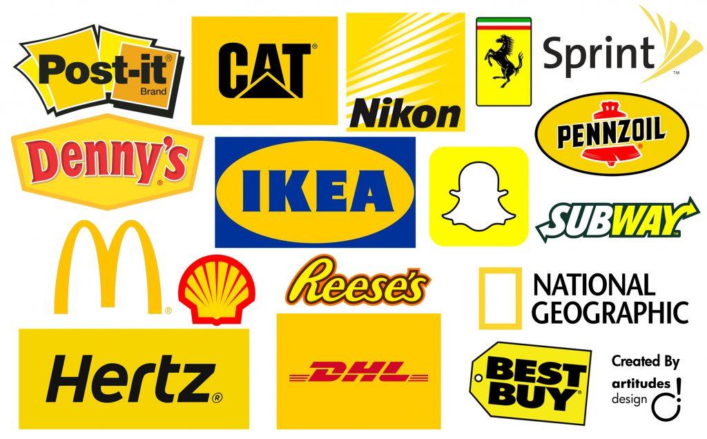 màu sắc trong thương hiệu - màu vàng