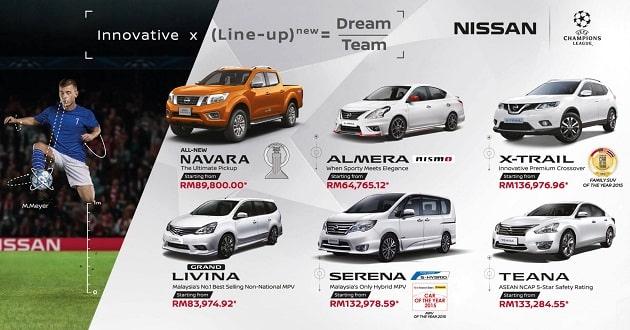 Nissan đưa ra những chương trình khuyến mãi hợp lý.