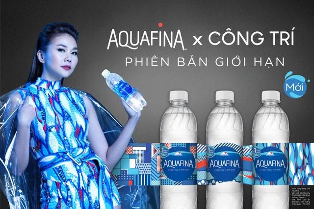 Sự kết hợp của Aquafina và công trí