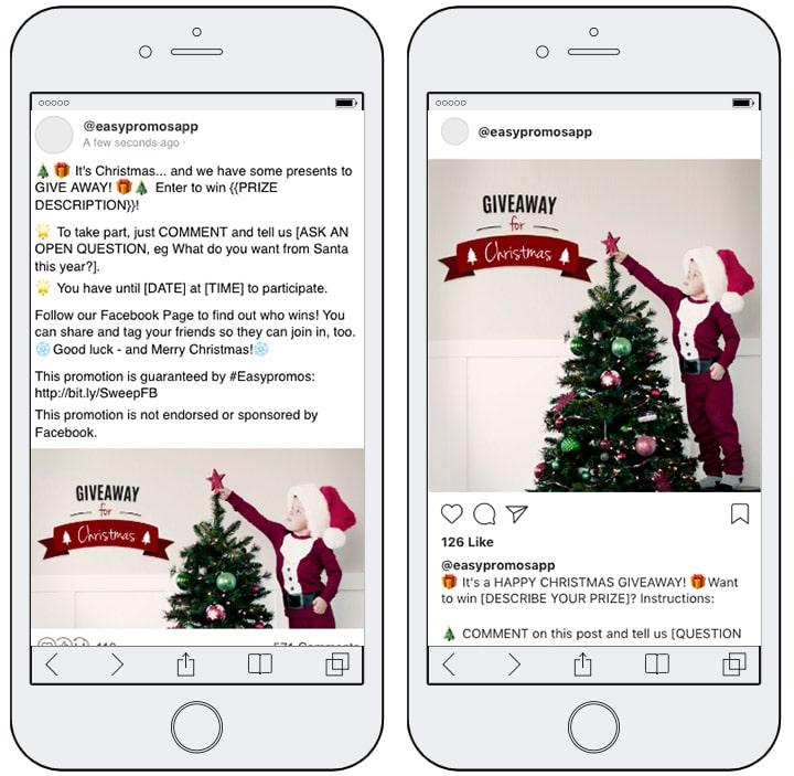 Giveaway ấn tượng trên Social Media