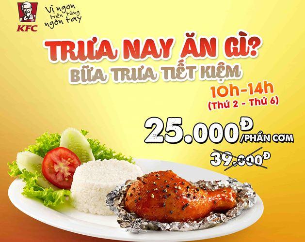 Cơm khiến KFC thành công trên thị trường Việt