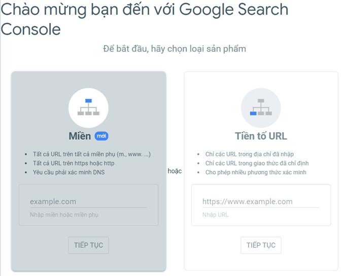cách cài đặt Google Search Console 03