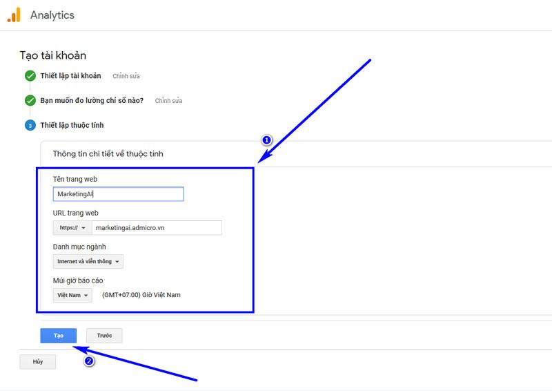 cách cài đặt google Analytics cho wordpress 05