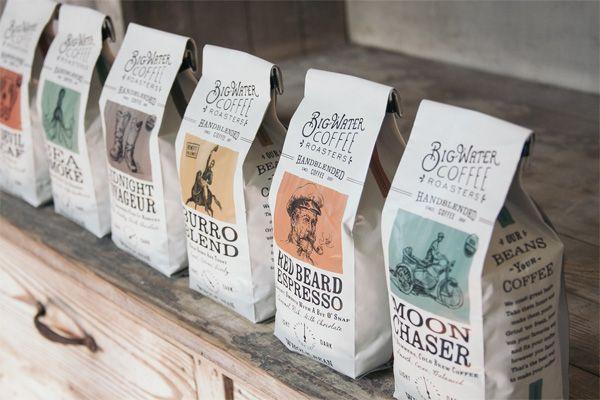Ý tưởng thiết kế bao bì sản phẩm năm 2019 - Tính thẩm mỹ retro của thiết kế bao bì phổ biến hơn bao giờ hết, đặc biệt là đối với các sản phẩm thực phẩm và đồ uống