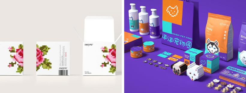 Ý tưởng thiết kế bao bì sản phẩm năm 2019 - Giao diện điều khiển trò chơi pixel cổ điển đang trở lại thống trị ý tưởng thiết kế bao bì