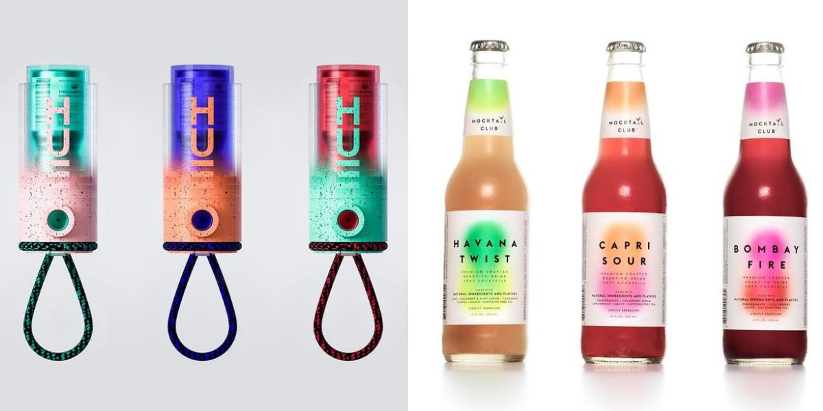 Ý tưởng thiết kế bao bì sản phẩm năm 2019 - Không có gì ngạc nhiên khi độ sắc màu gradient hấp dẫn cả nhà thiết kế và khán giả
