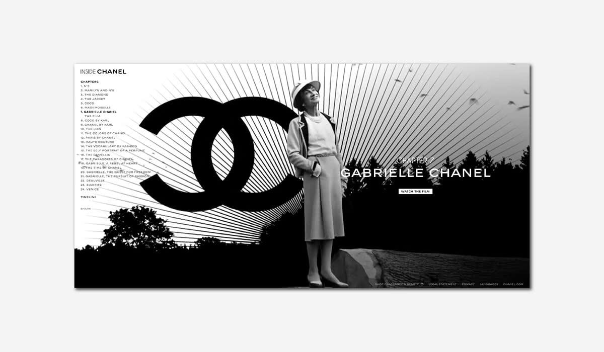 Mẫu logo đẹp của thương hiệu thời trang Chanel
