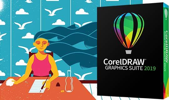 CorelDRAW - Phần mềm thiết kế logo với tổng thể hoàn hảo