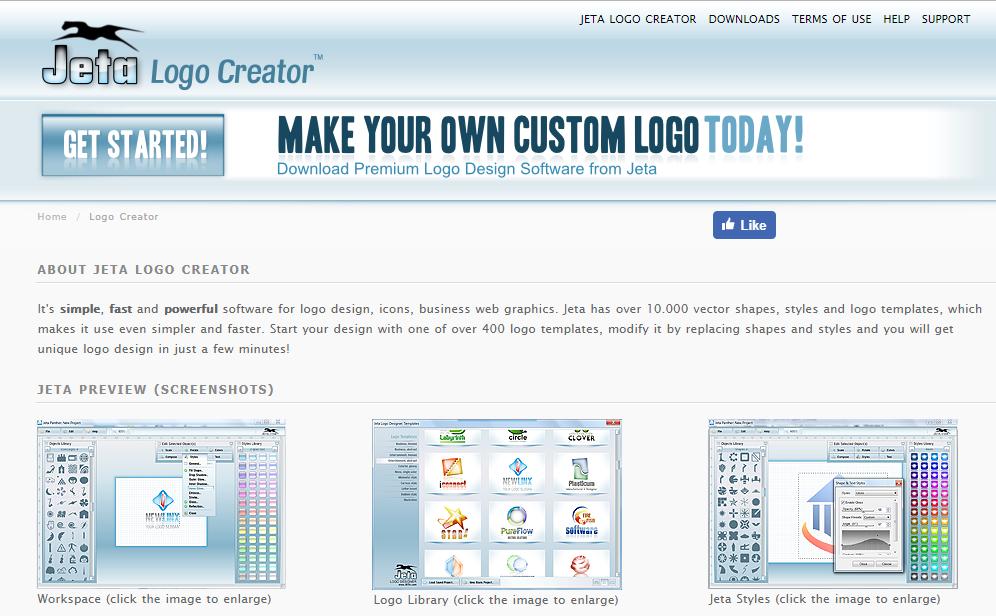 JetA Logo Creator - Phần mềm thiết kế Logo dễ sử dụng