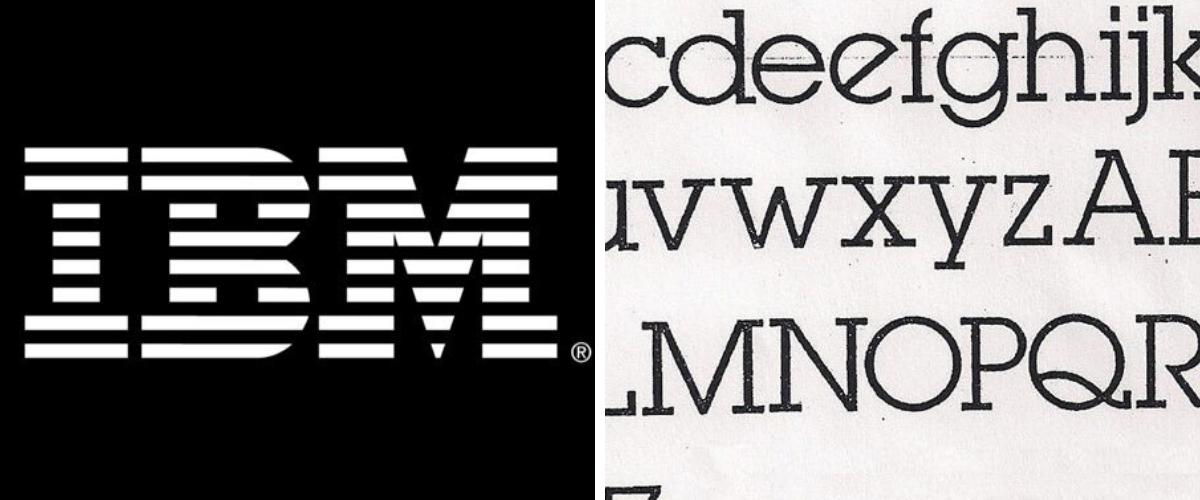 25 loại font chữ thiết kế logo kinh điển các designer cần biết 13
