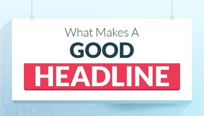 cách tạo headline ấn tượng