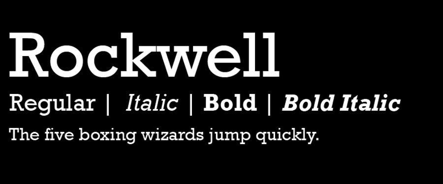 25 loại font chữ thiết kế logo kinh điển các designer cần biết 10