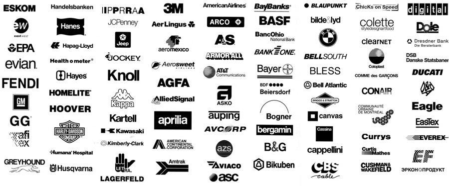 25 loại font chữ thiết kế logo kinh điển các designer cần biết 17