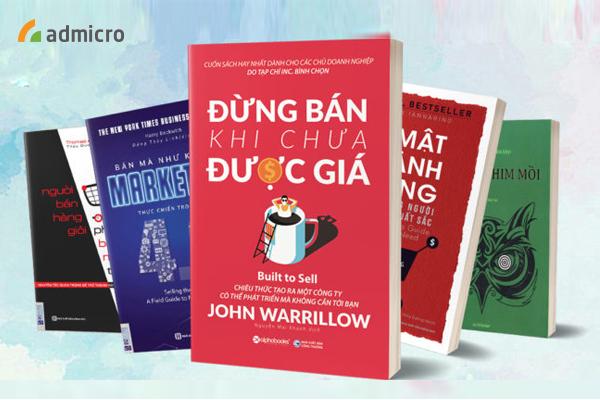 Những cuốn sách hay về bán hàng cho dân sales