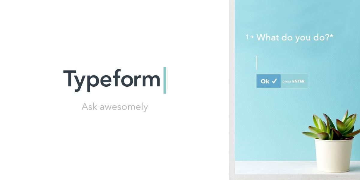 Công cụ khảo sát thị trường Typeform