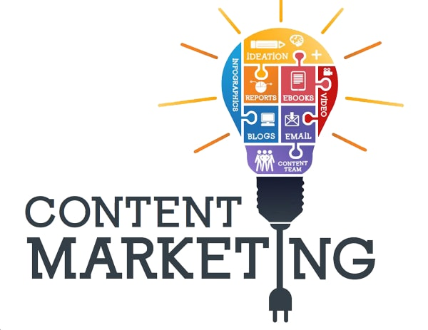 Digital marketing bao gồm những gì - Content marketing