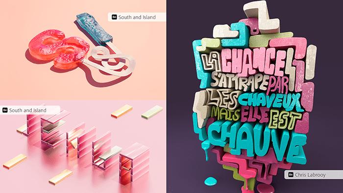 Trải nghiệm Typography khác nhau
