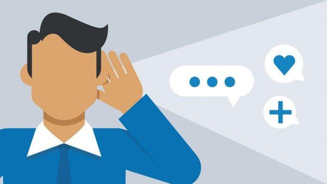 Trò chuyện, hỏi các khách hàng hiện thời