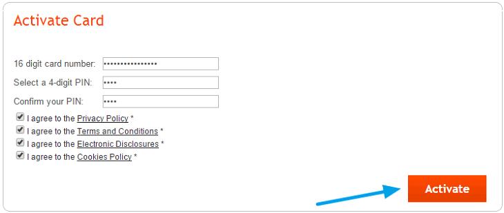 Giao diện kích hoạt tài khoản payoneer 1