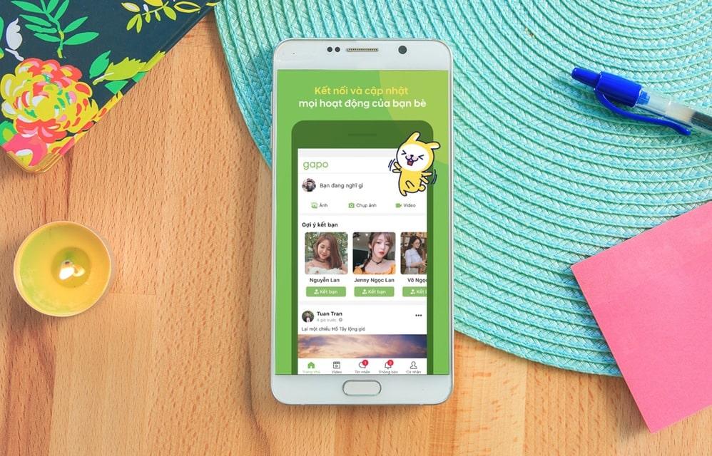 gapo - mạng xã hội lớn nhất tại việt nam