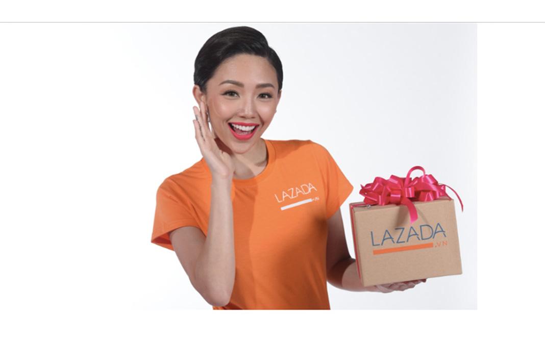Đại sứ thương hiệu lazada - Tóc Tiên