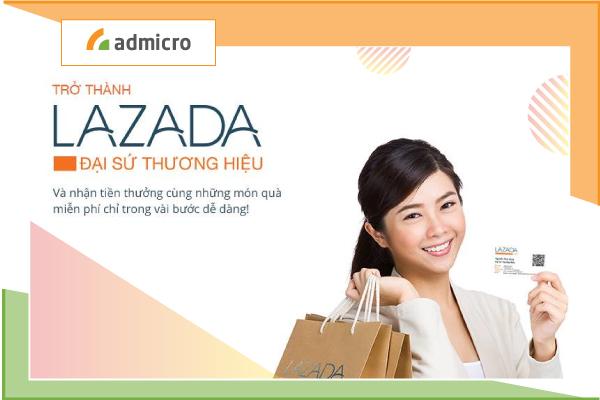đại sứ quảng cáo lazada