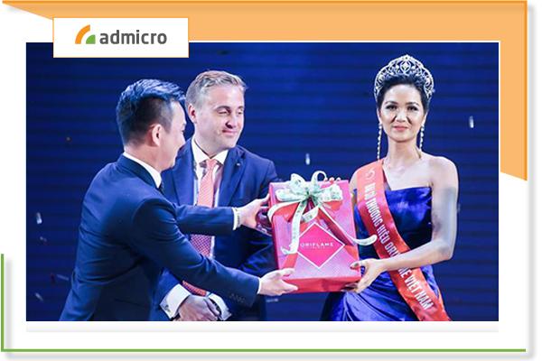 Đại sứ thương hiệu Oriflame tại Việt Nam