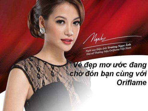 Đại sứ thương hiệu Oriflame - Trương Ngọc Ánh