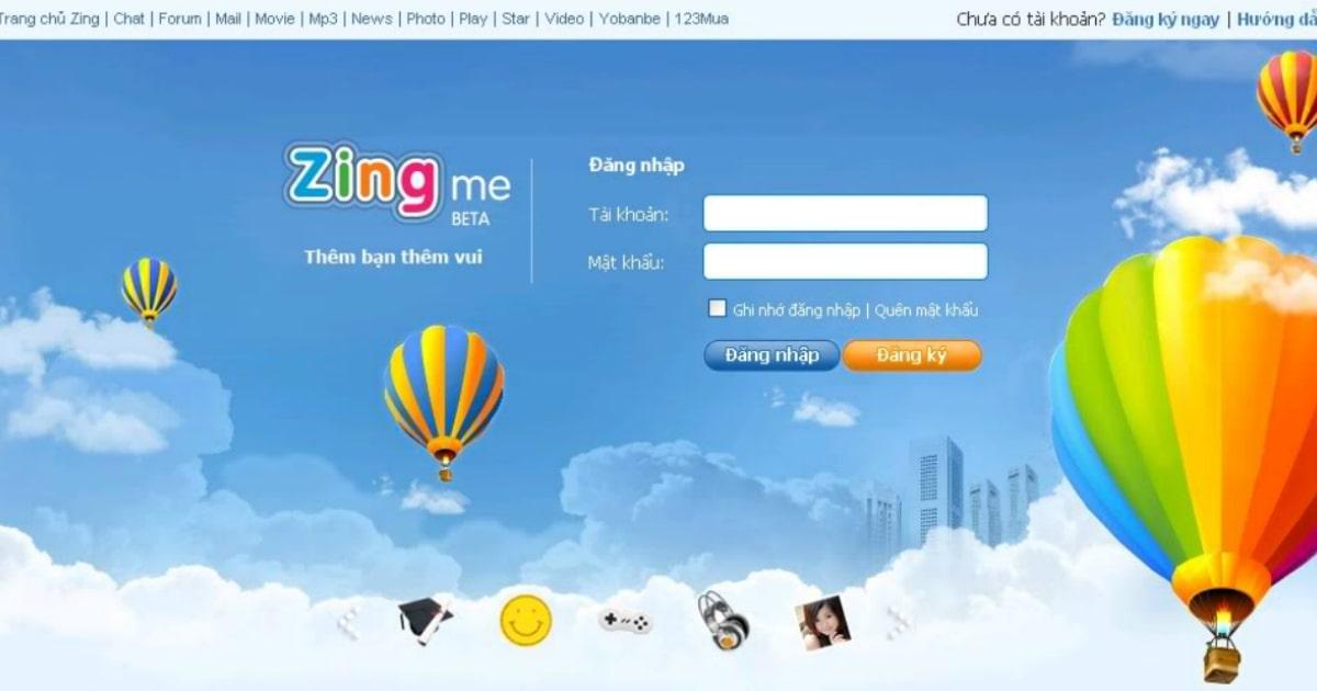 Zing Me - Bước mở đầu cho kỷ nguyên phát triển Social Media tại Việt Nam