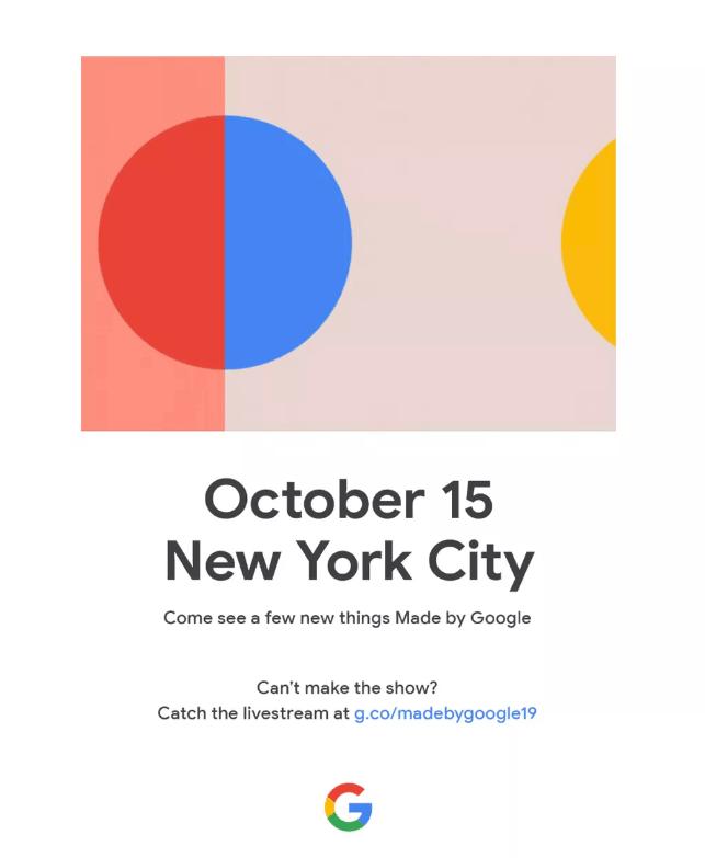 sự kiện ra mắt Pixel 4/4XL