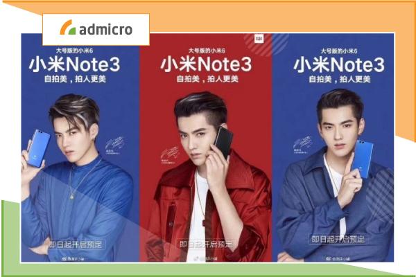 Đại sứ thương hiệu Xiaomi