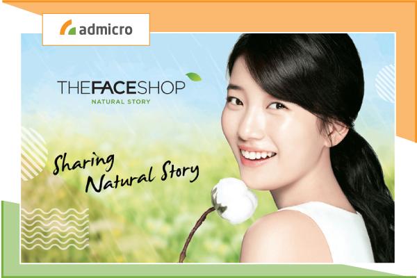 đại sứ thương hiệu the face shop