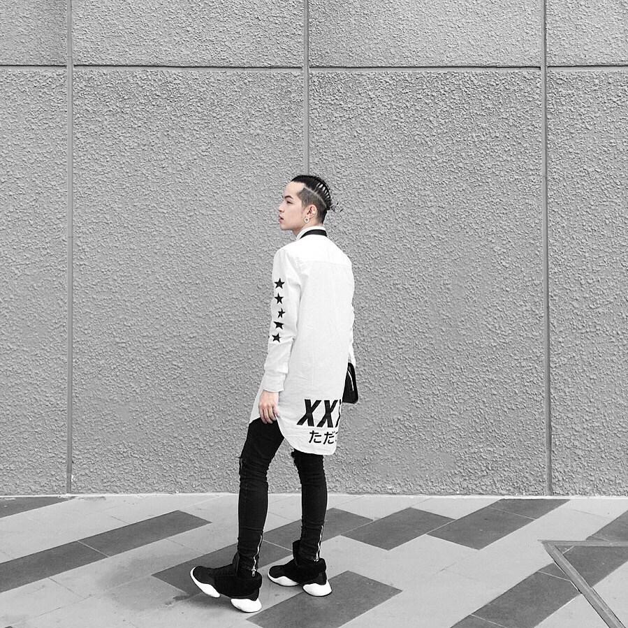 hẳng định cá tính riêng biệt như đại sứ thương hiệu Adidas Kelbin Lei