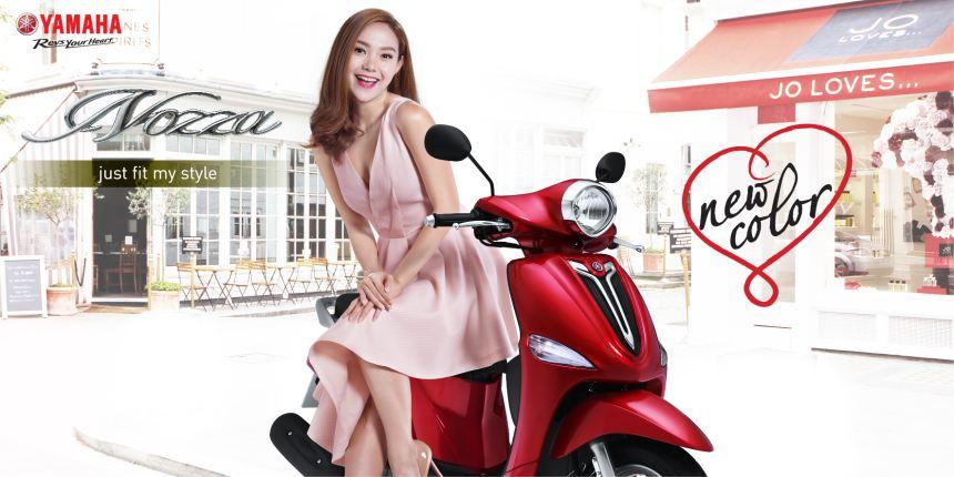 Minh Hằng - Đại sứ thương hiệu Yamaha