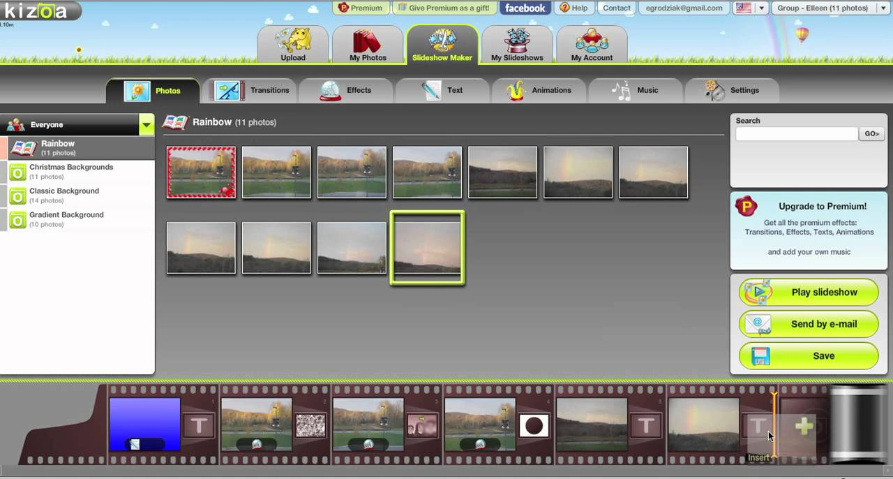 Kizoa - trang web cắt ghép, chỉnh sửa video online cho người mới