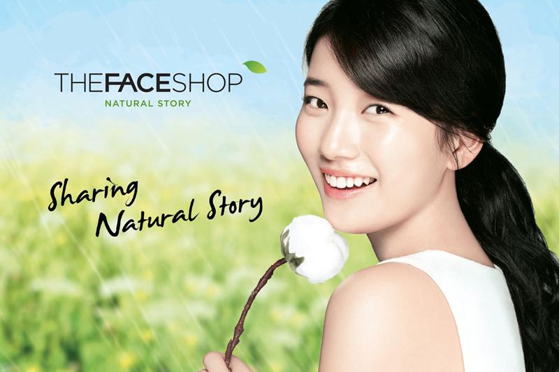 Đại sứ thương hiệu The Face Shop Mỹ nhân Suzy (MissA)