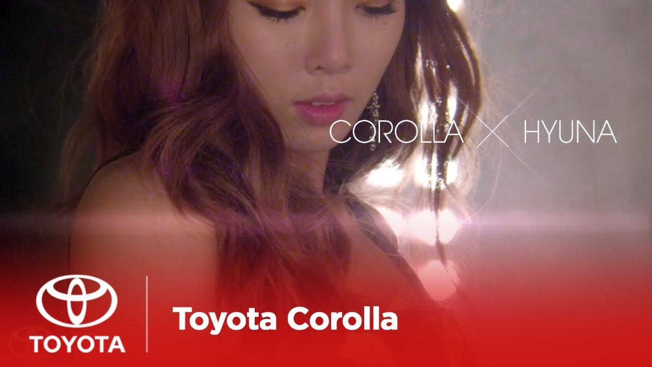 HyunA trở thành đại sứ quảng cáo Toyota Corolla