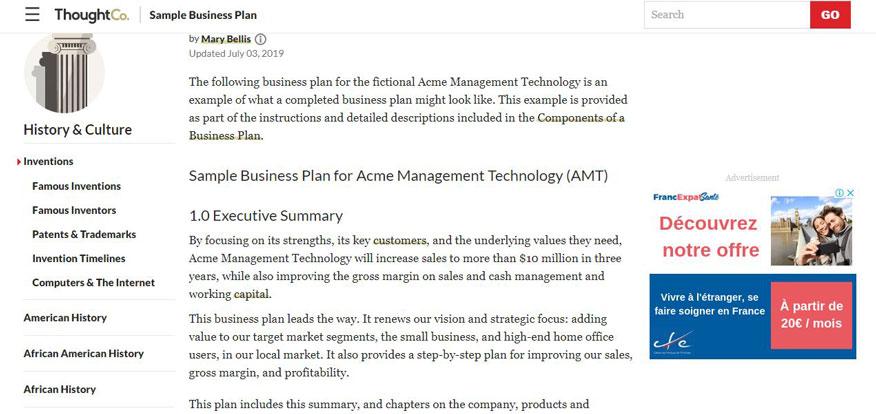 3 mẫu báo cáo kế hoạch kinh doanh 2