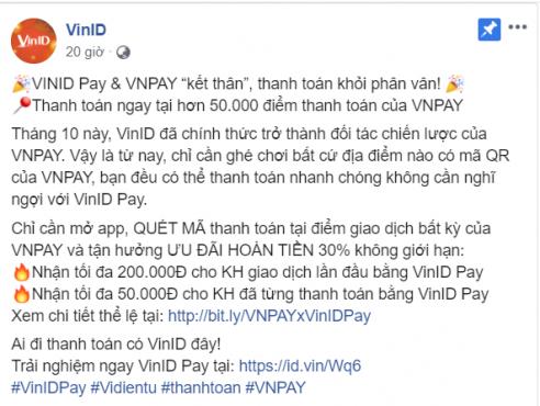 VinID là gì? VinID Pay: Chiến lược mới nhằm mở rộng hệ sinh thái của tập đoàn Vingroup