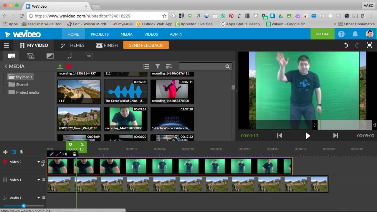 WeVideo - trang web cắt ghép, chỉnh sửa video online mạnh mẽ