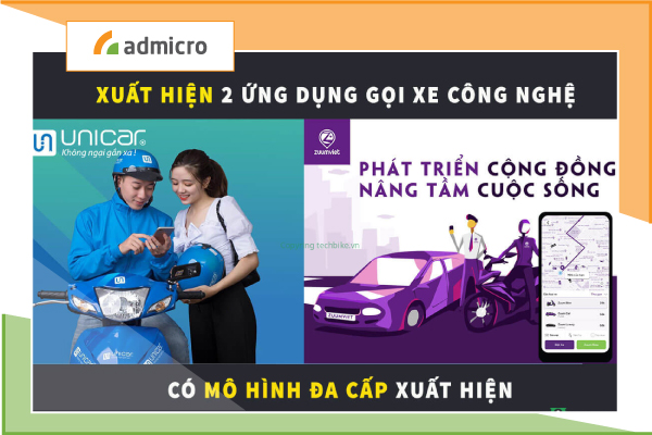 Unicar và Zuumviet: 2 cái tên mới đầy hoài nghi về thị trường gọi xe trực tuyến