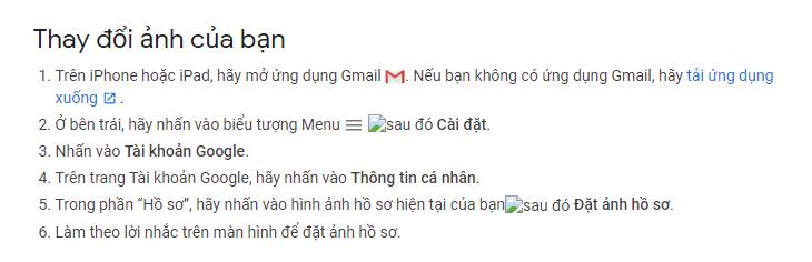 Hướng dẫn thay đổi ảnh đại diện email trên iPhone