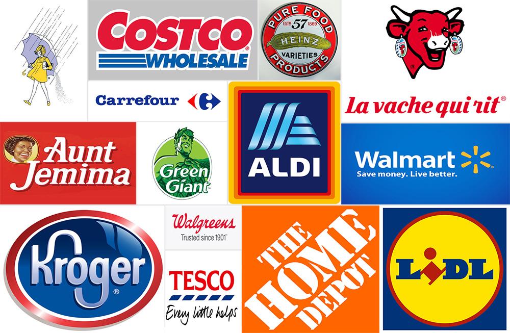 Logo đẹp lĩnh vực bán lẻ