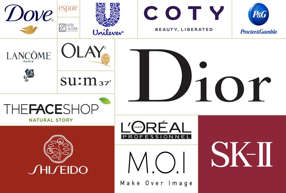 Mẫu logo đẹp ngành mỹ phẩm