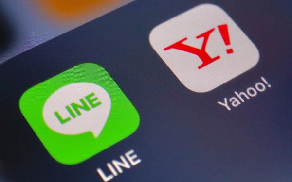 Yahoo nhật bản sát nhập LINE