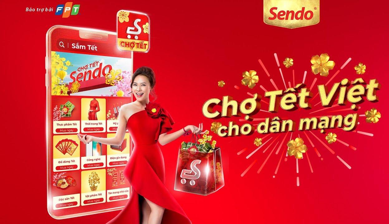 Chợ Tết Việt Sendo 2020 cho dân mạng là chiến lược marketing của Sen đỏ đáng chú ý