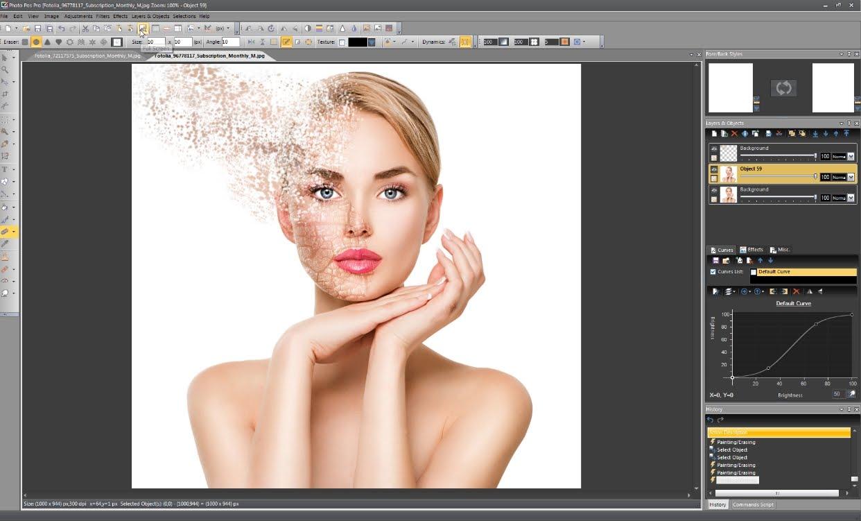 Photo Pos Pro - 10 phần mềm chỉnh sửa ảnh trên máy tính miễn phí